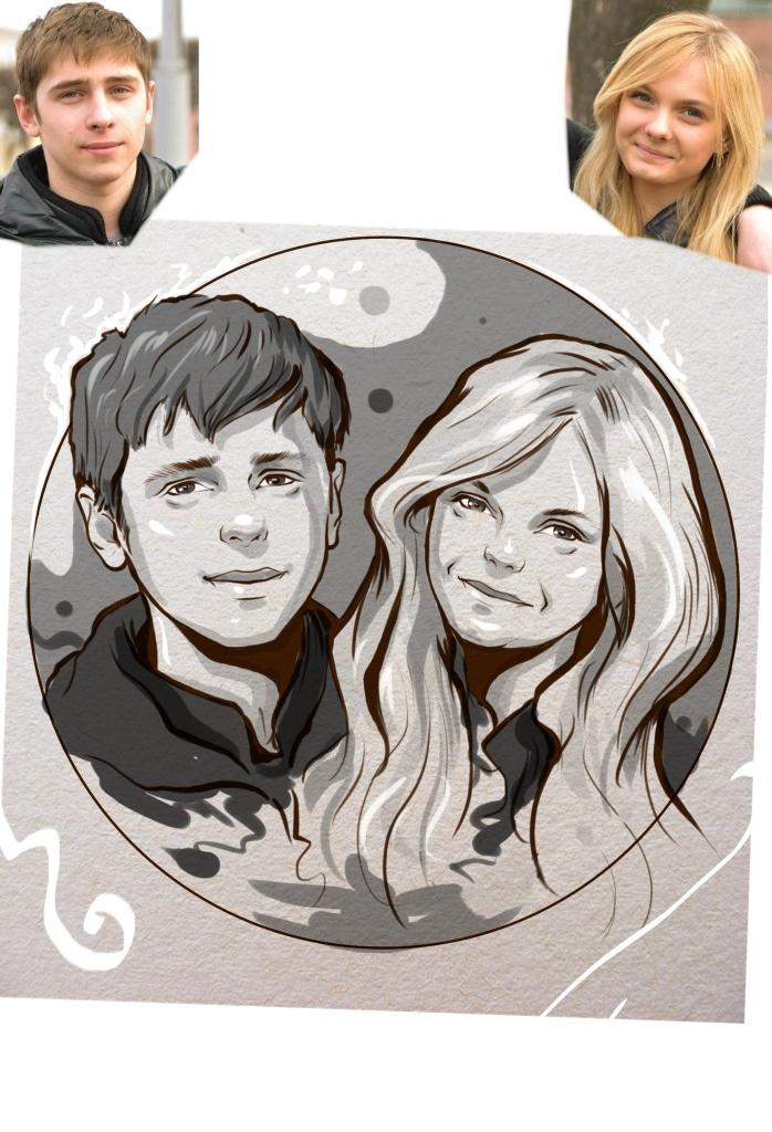 Заказать портрет на годовщину свадьбы в Ижевске