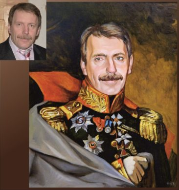 Настоящий портрет маслом на заказ в Ижевске…