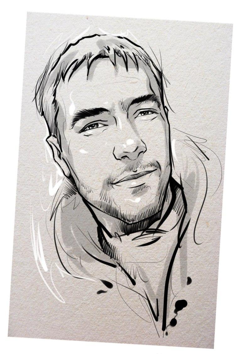 Портрет карандашом любимому мужу в Ижевске…