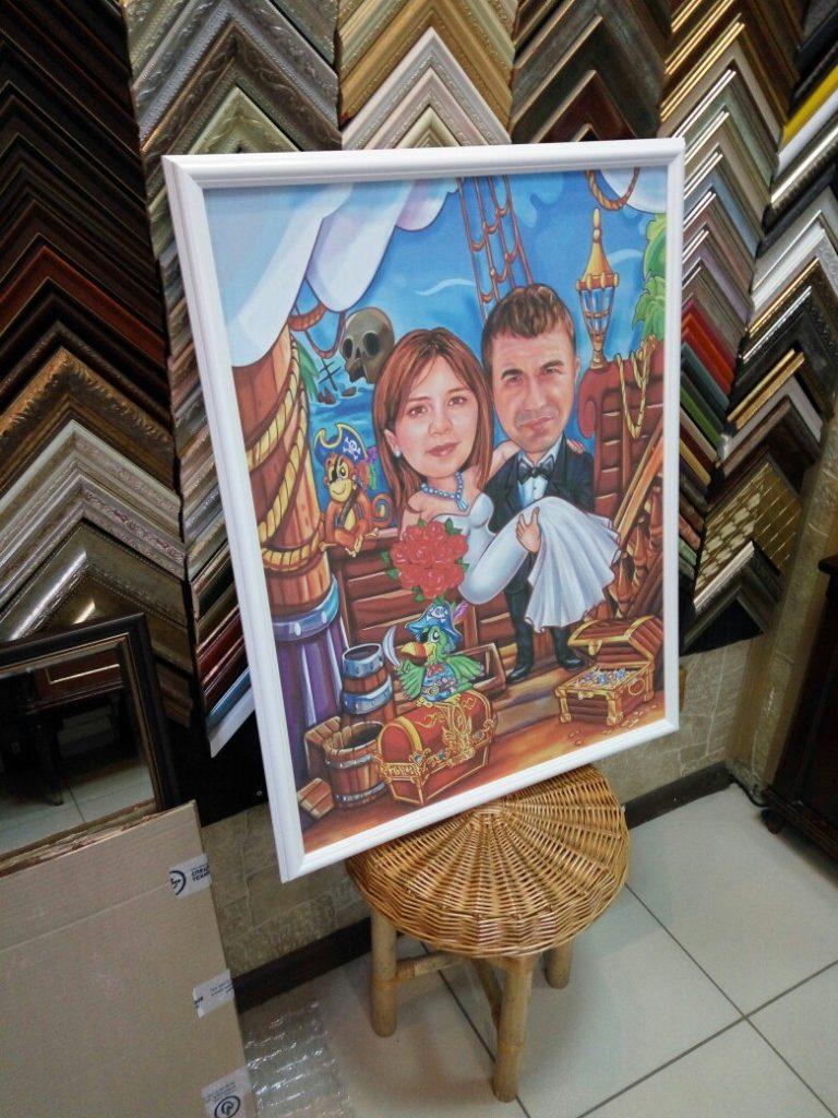 портрет шарж на заказ в ижевске