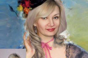 Заказать арт портрет по фото на холсте в Ижевске…