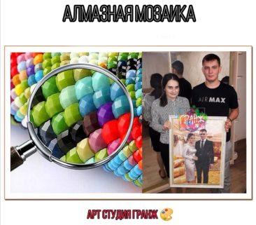 Алмазная мозаика по фото заказать в Ижевске